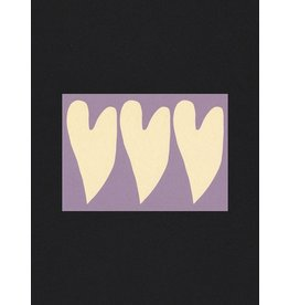 Glitterstudio Hearts - Postcard A6