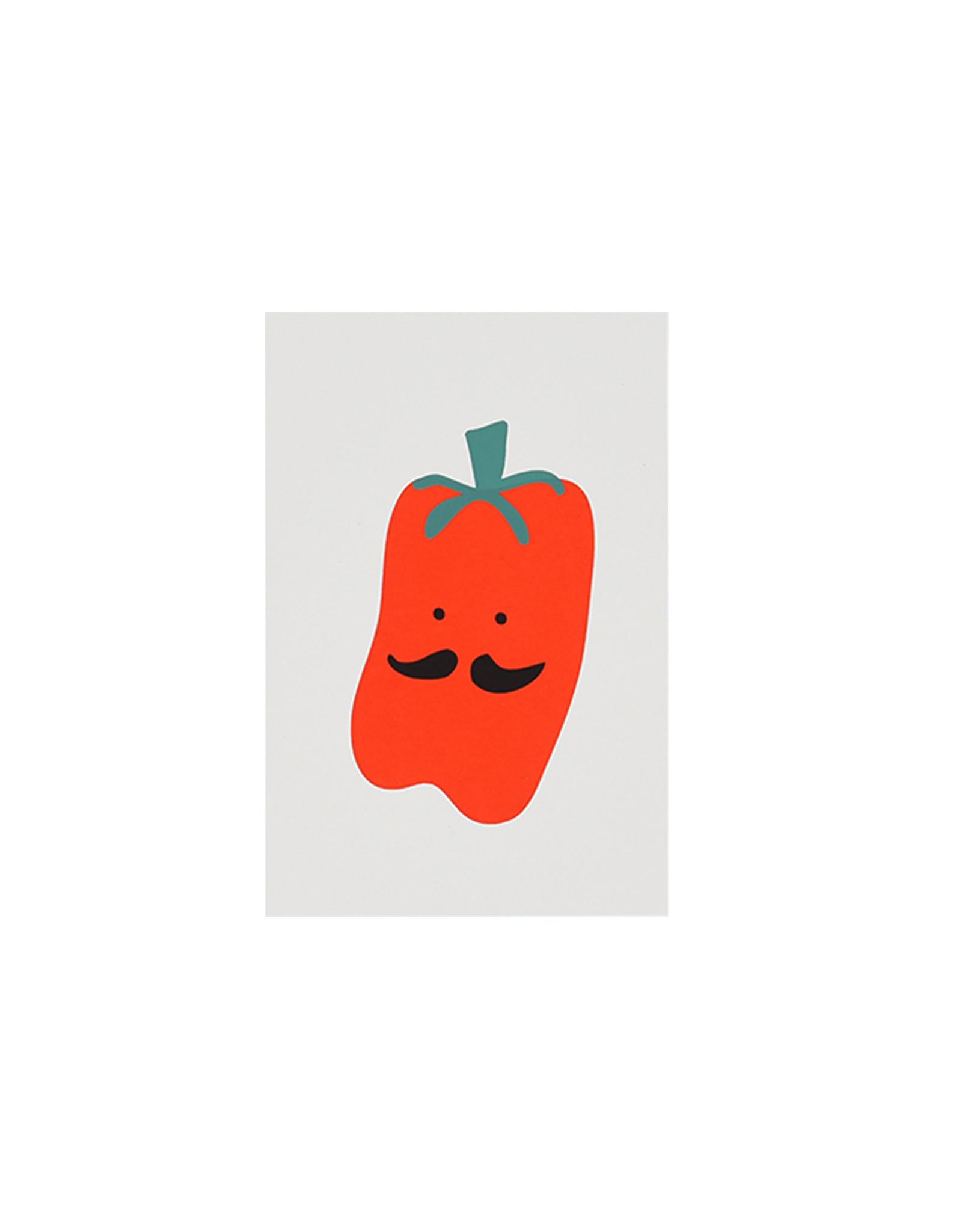 Marloes Kroeze Marloes Kroeze - Ansichtkaart Rode Paprika