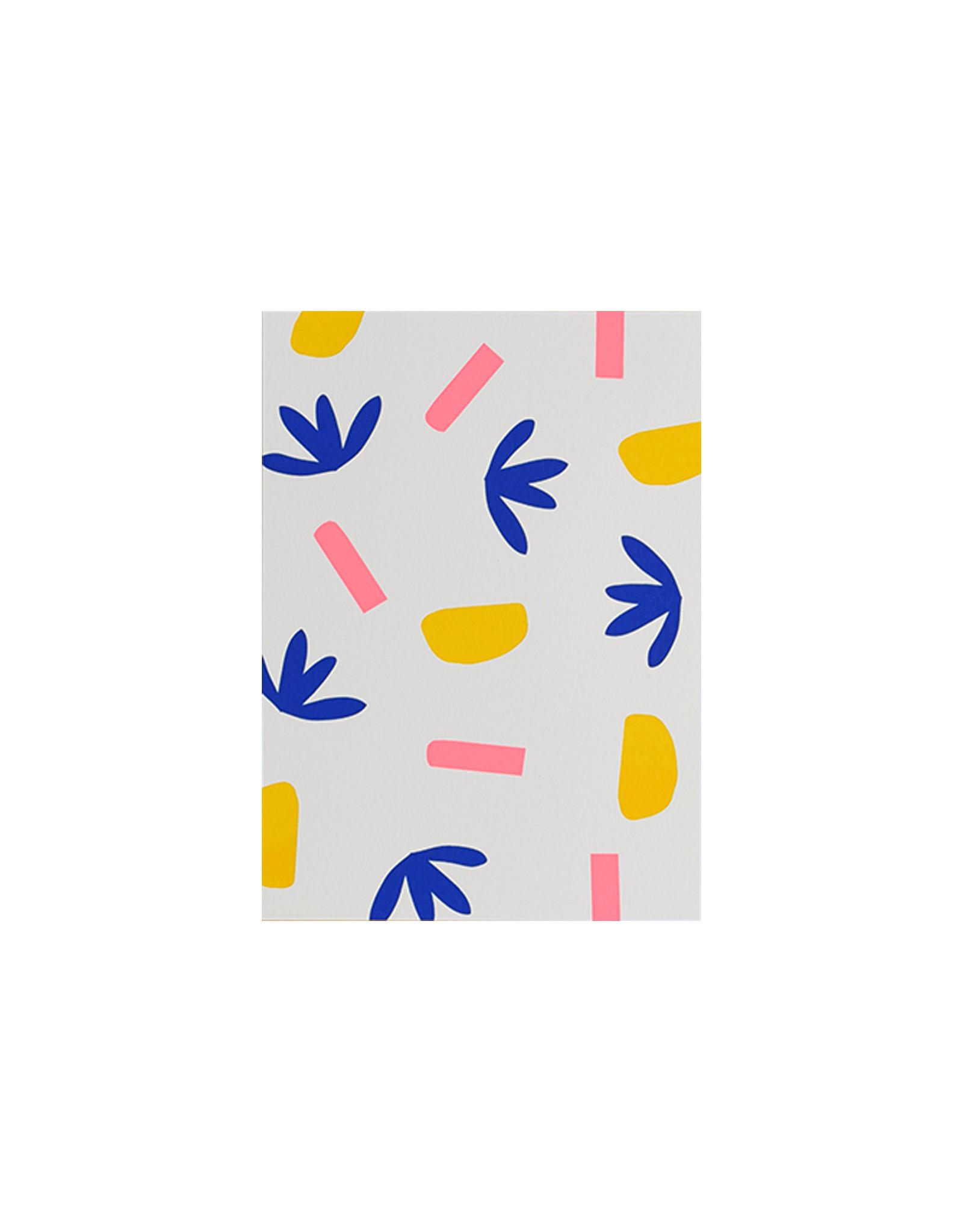Marloes Kroeze Marloes Kroeze - Ansichtkaart Drie Kleuren, 1