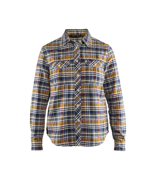 Blåkläder Dames Overhemd Flanel 32091137