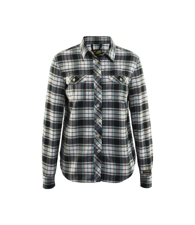 Blåkläder Dames Overhemd Flanel 32091136