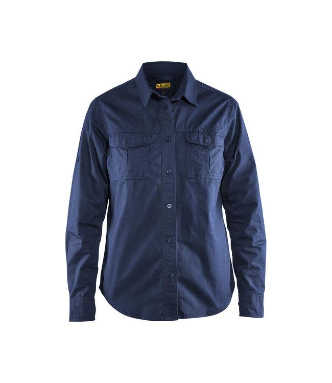 Blåkläder Dames Overhemd Twill 32081135