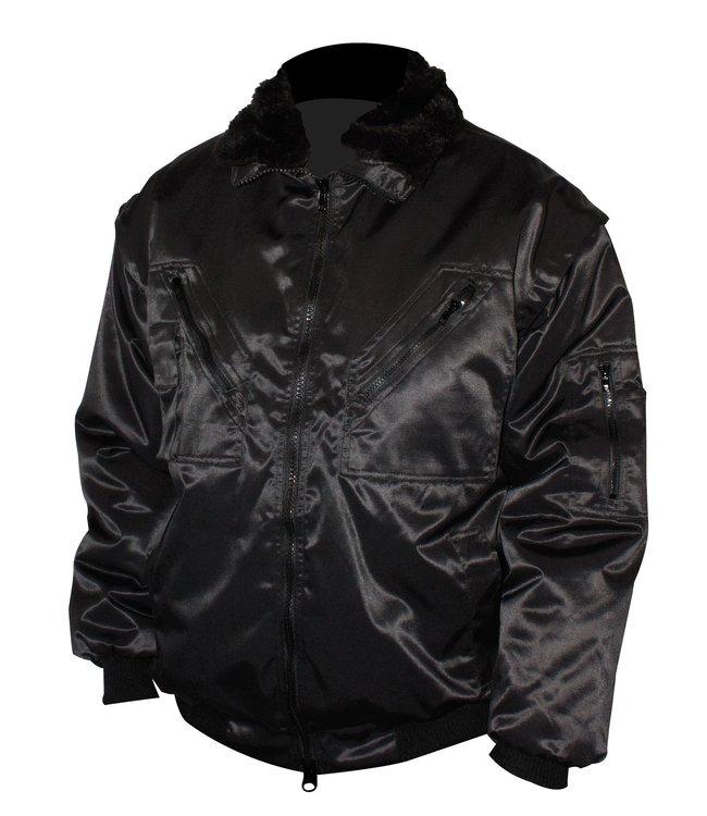 Gevavi Pilot jas zwart