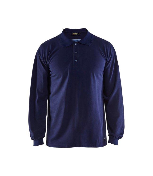 Blåkläder Vlamvertragende Piqué Polo lange mouw 33741726