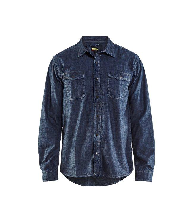 Blåkläder Overhemd Denim 32951129