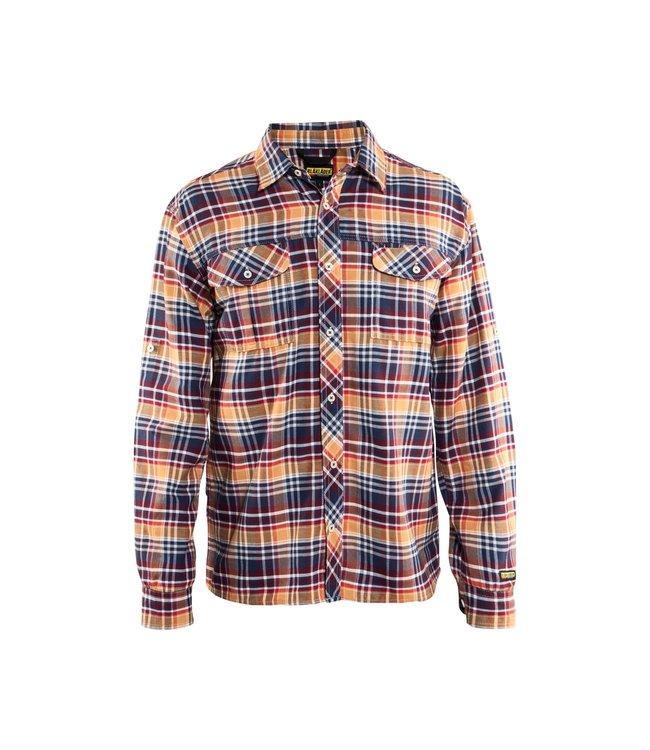 Blåkläder Overhemd Flanel 32991137