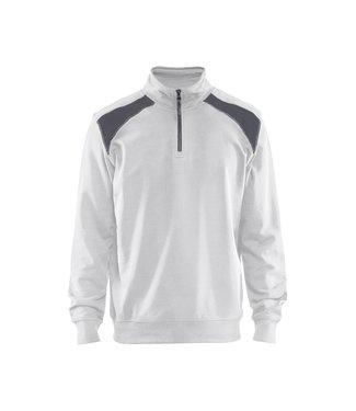 Blåkläder Sweatshirt Bi-Colour met halve rits 33531158