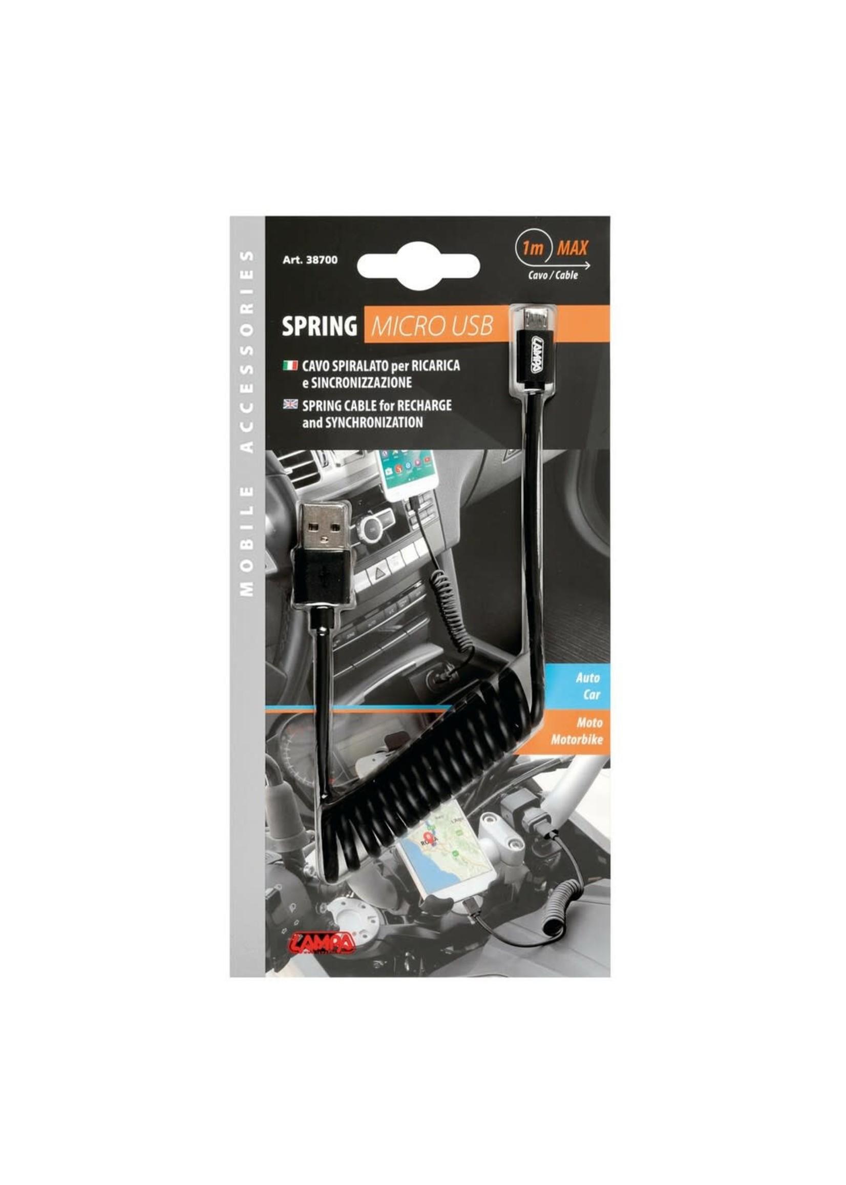 optiline Optiline Micro USB 1m Oplaadkabel