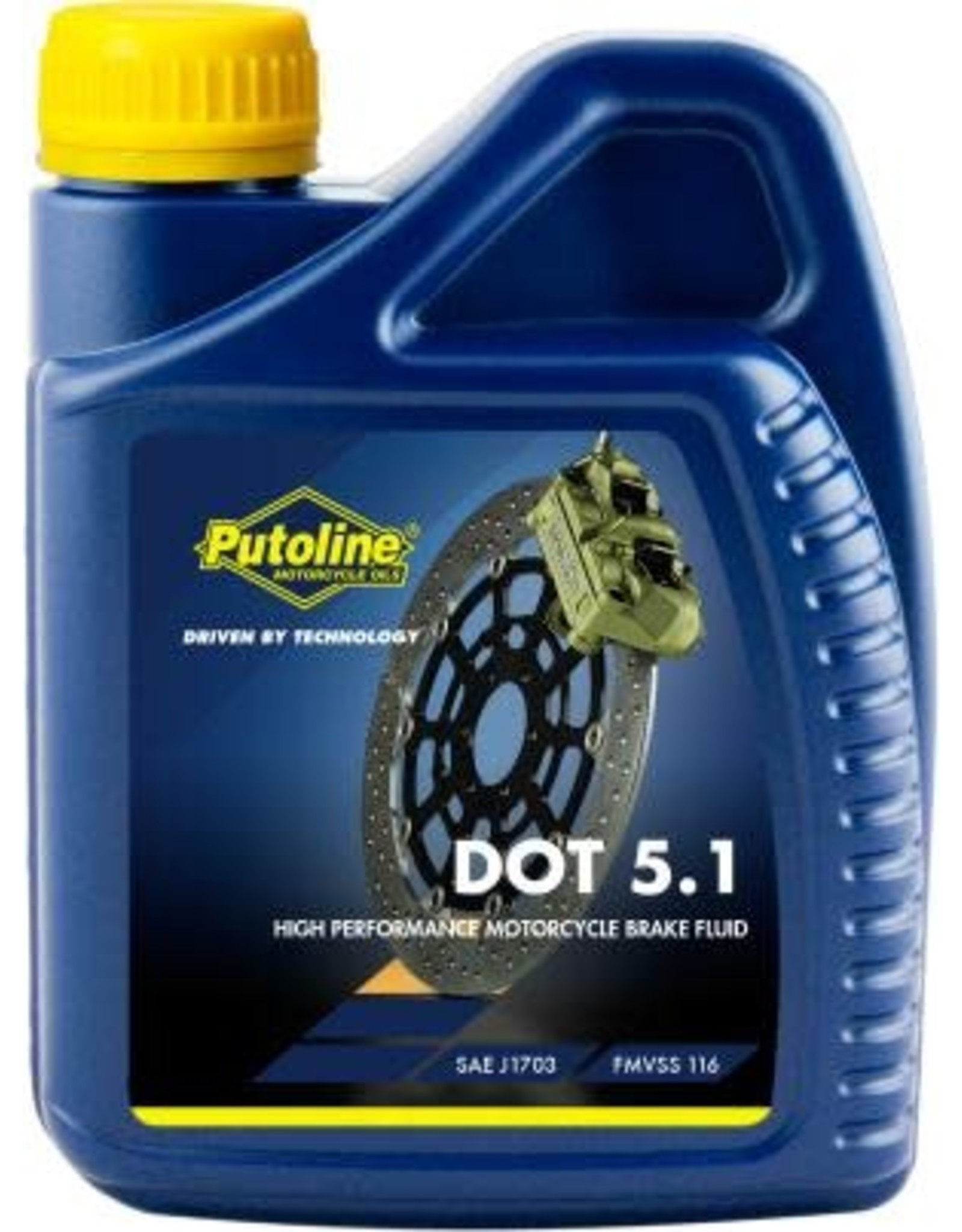 Putoline BRAKE FLUID DOT 5.1 500ML