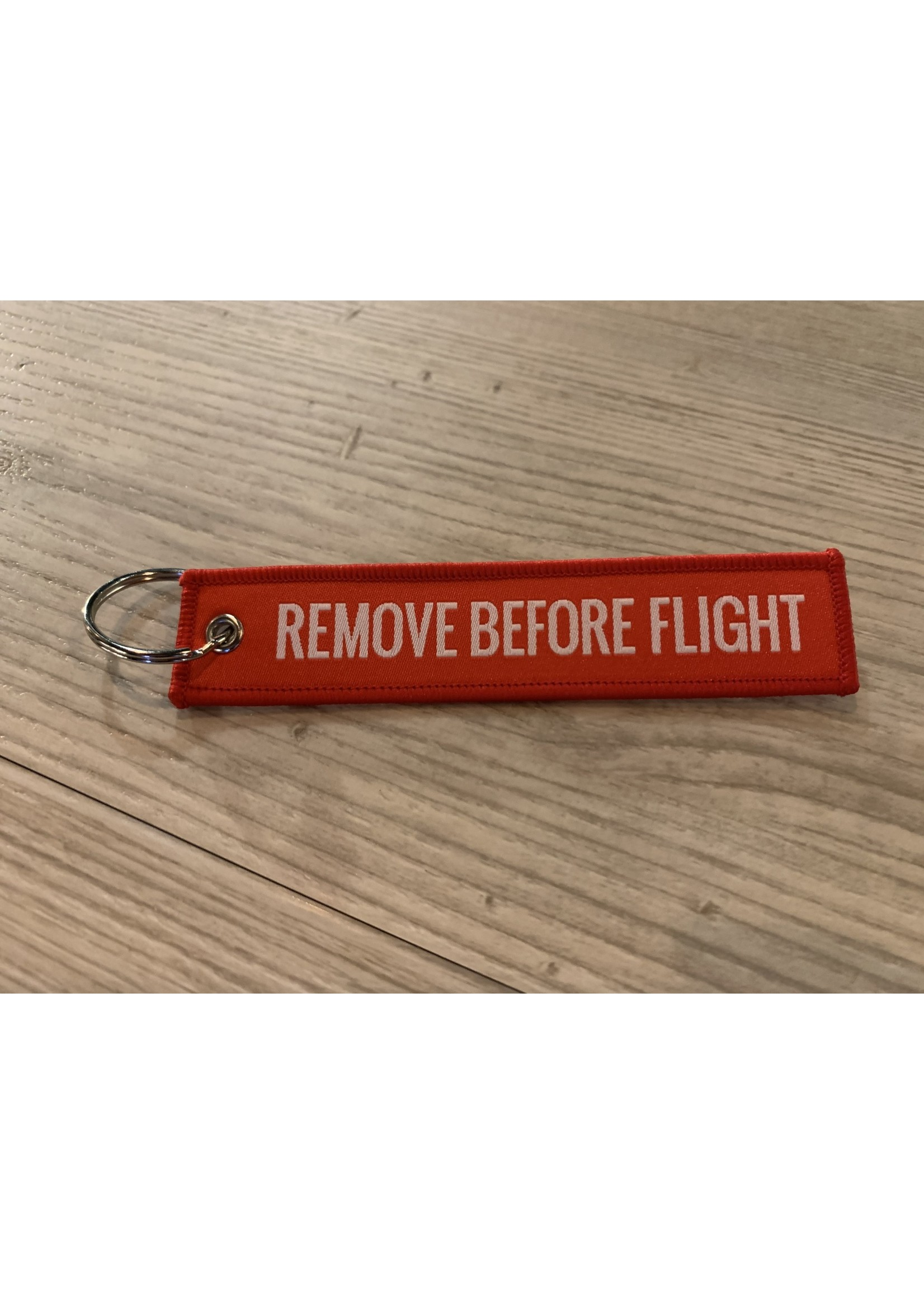 MotoPoint Sleutelhanger Remove before flight rood