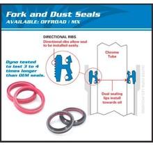 FORK OIL SEAL & DUST KIT 56-132