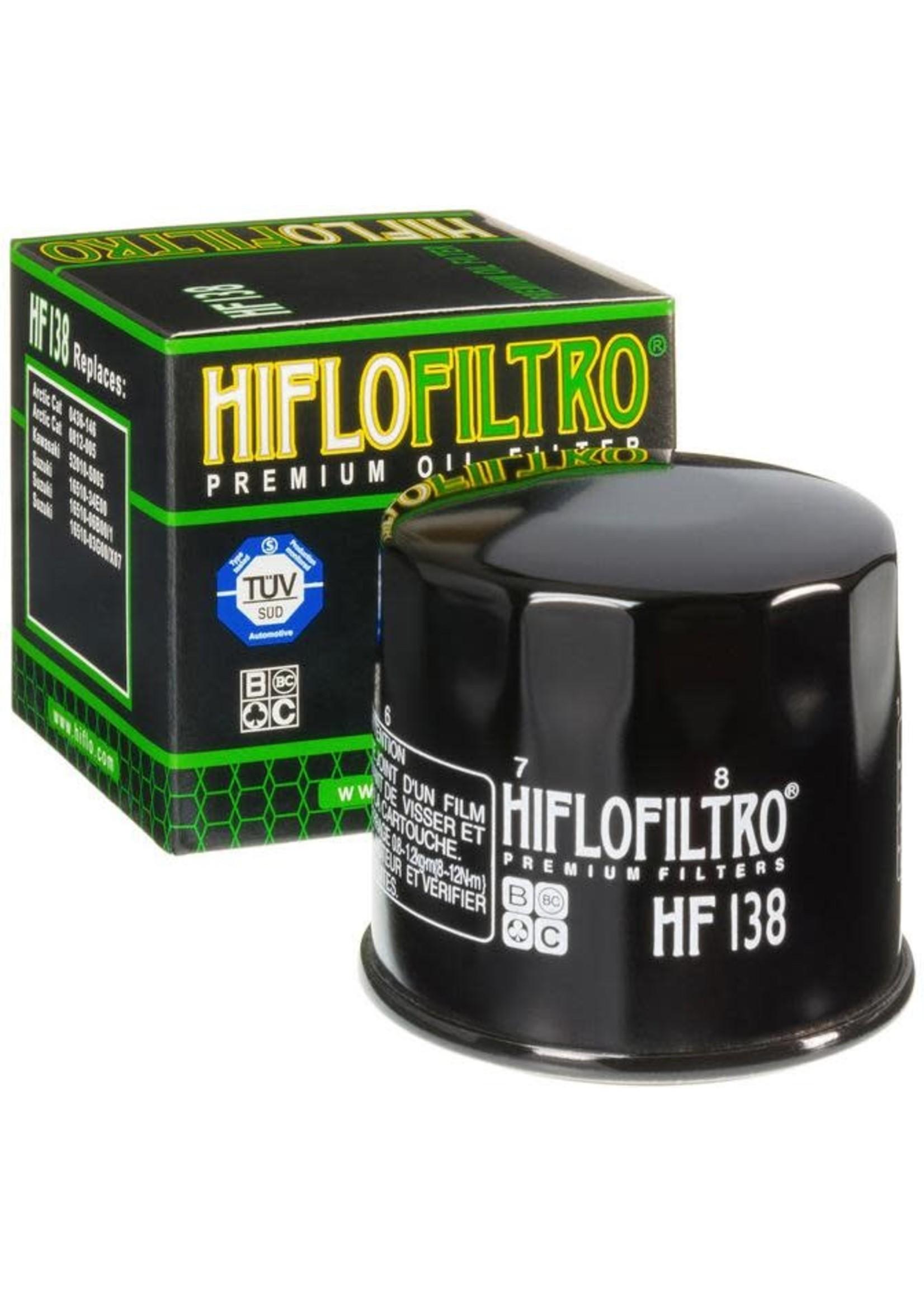 Hiflo Hiflo OIL FILTER, HF138
