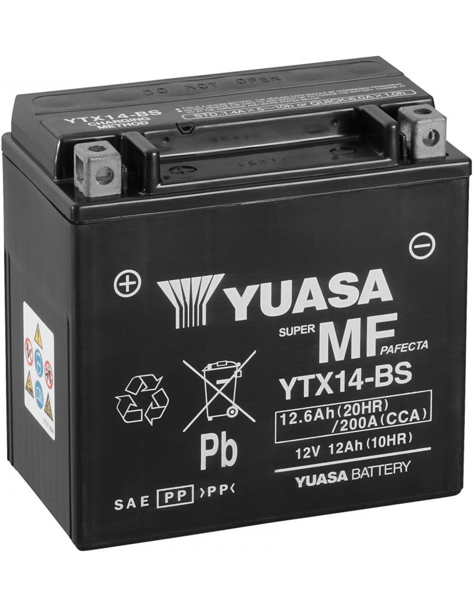 YUASA YUASA YTX14-BS