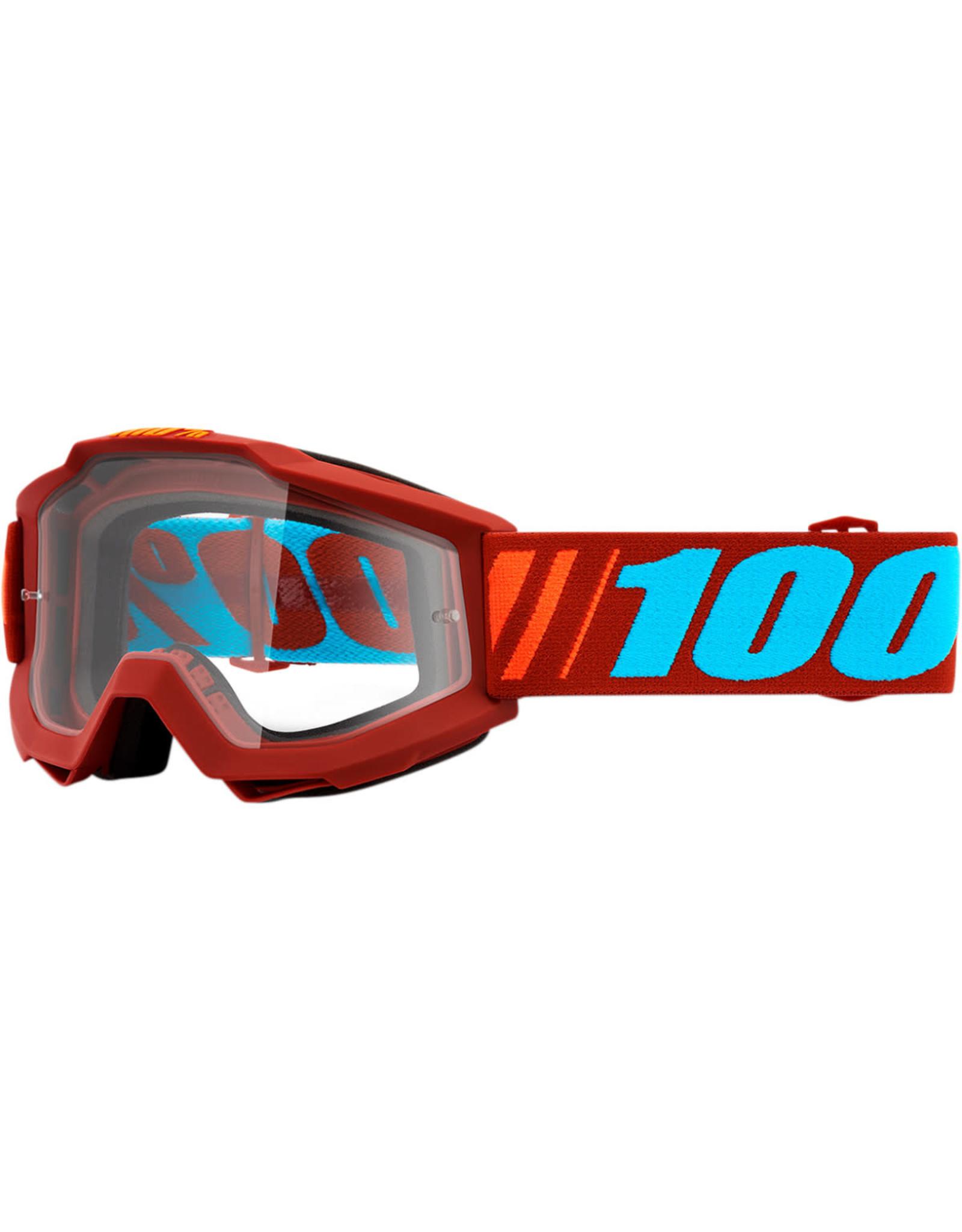 100% 100% ACCURI Dauphine MX Bril Rood