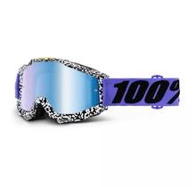 100% ACCURI Brentwood MX Bril Blauw