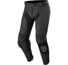 Womens stella missile V2 airflow performance leather  pants black