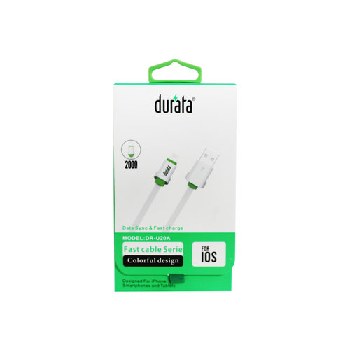 Durata  USB Lightning Cable Charger & Data 1.5M (DR-U15A)