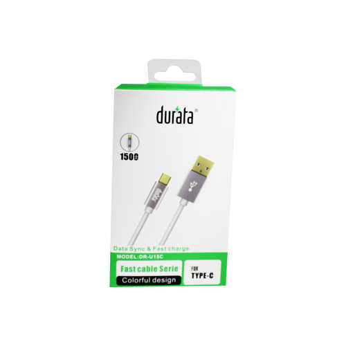 Durata  USB Cable Charger&Data For Type-C 1.5M DR-U15C