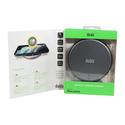 Durata  Slim Design Wireless Charger 10W DR-WC1