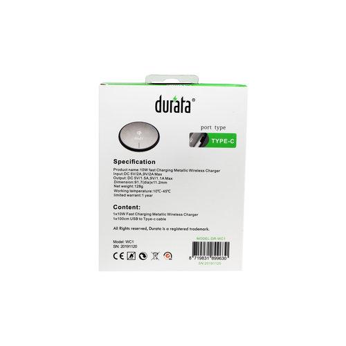 Durata Slank ontwerp draadloze oplader 10W DR-WC1