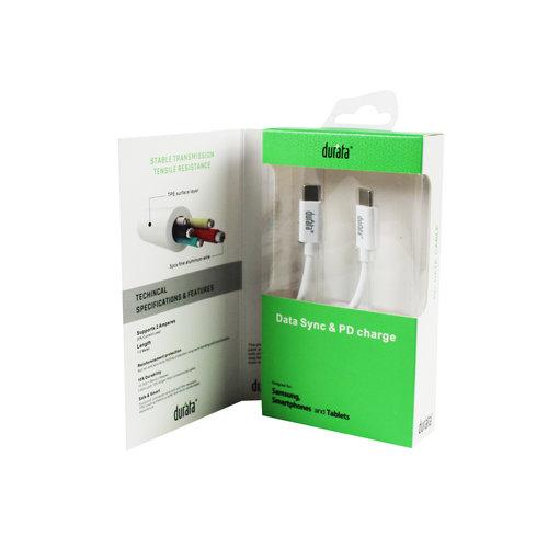 Durata  USB Cable Type-C to Type-C 1M DR-U013