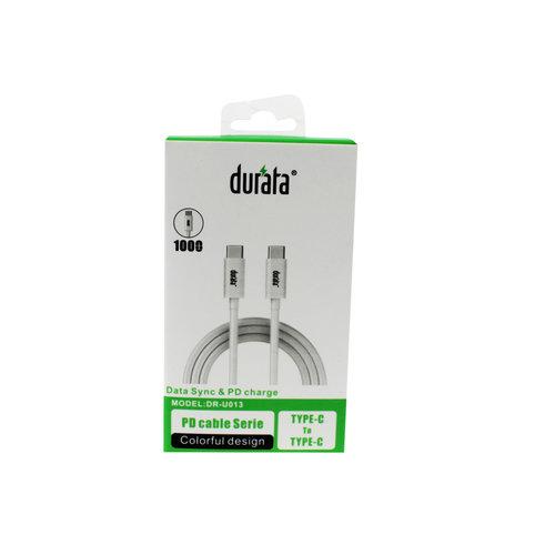 Durata USB-kabel Type-C naar Type-C 1M DR-U013