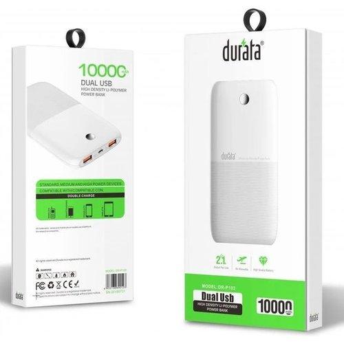 Durata  10.000mAh Dual USB Powerbank - DR-P103