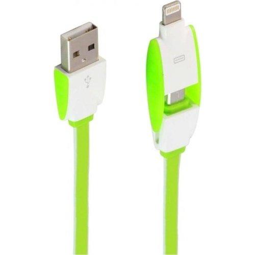 Durata USB datakabel 2in1 Lightning & Micro-USB 1M (DR-LC83)