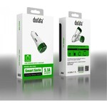 Durata Autolader 2/1 3 USB-sleuf Type-C 5.1A - Wit (DR-C508C)