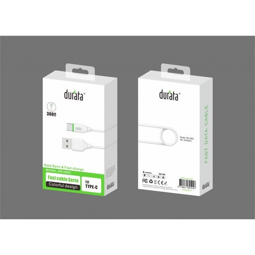 Durata  Fast Cable Serie 3Meter for Type C DR-80C