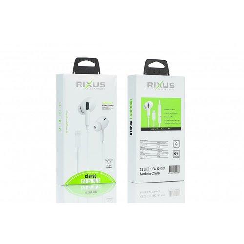 Rixus  Stereo Earphone For Lightning Pop up Window RX-HD-20A