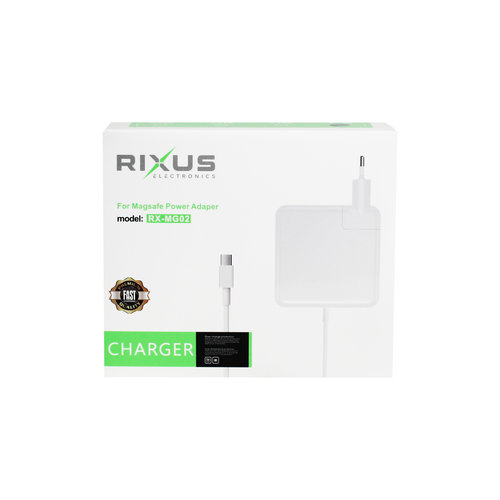 Rixus  87W Charger for Macbook - USB C Type