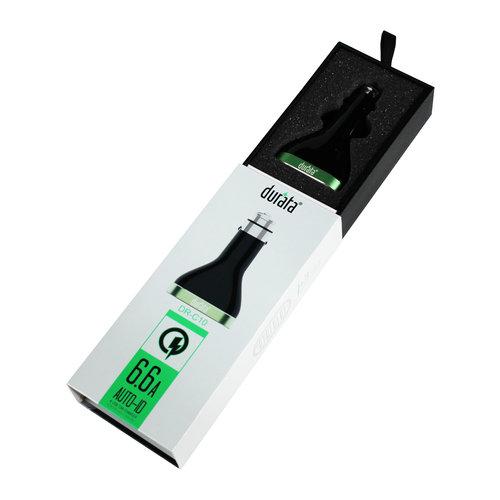 Durata  Car Adapter 7.8mAh 4USB Qualcomm 3.0 Quick Charge (DR-C10)