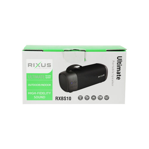Rixus  Portable Wireless Speaker - RXBS10