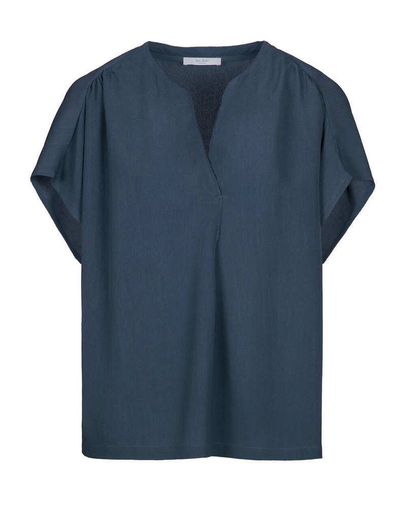 By-Bar Moon Crepe Blouse