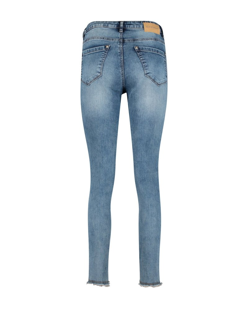 Red Button Sofie skinny stone used 2838