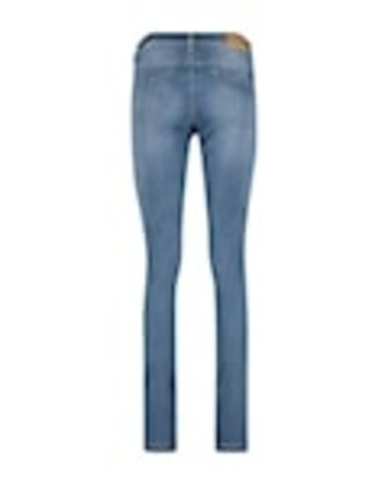 Red Button Jimmy Jeans Light Blue Used Repreve