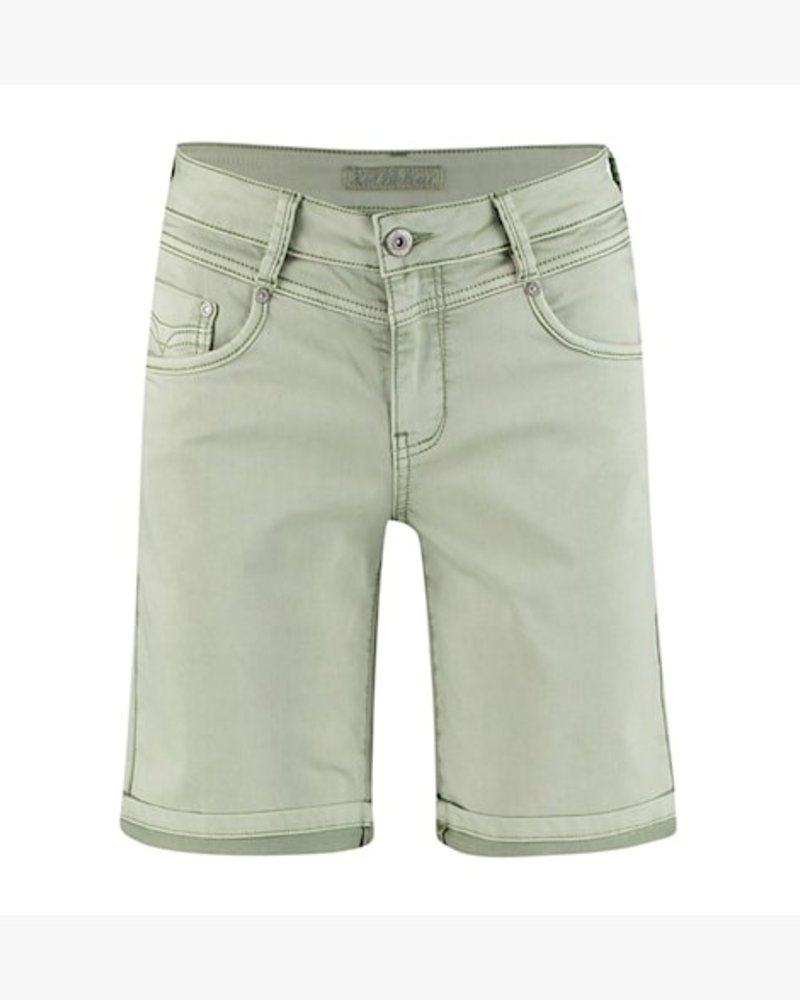 Red Button Relax Short Jog Color