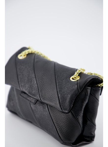 by Pepper Rainbow Bag Black - Small