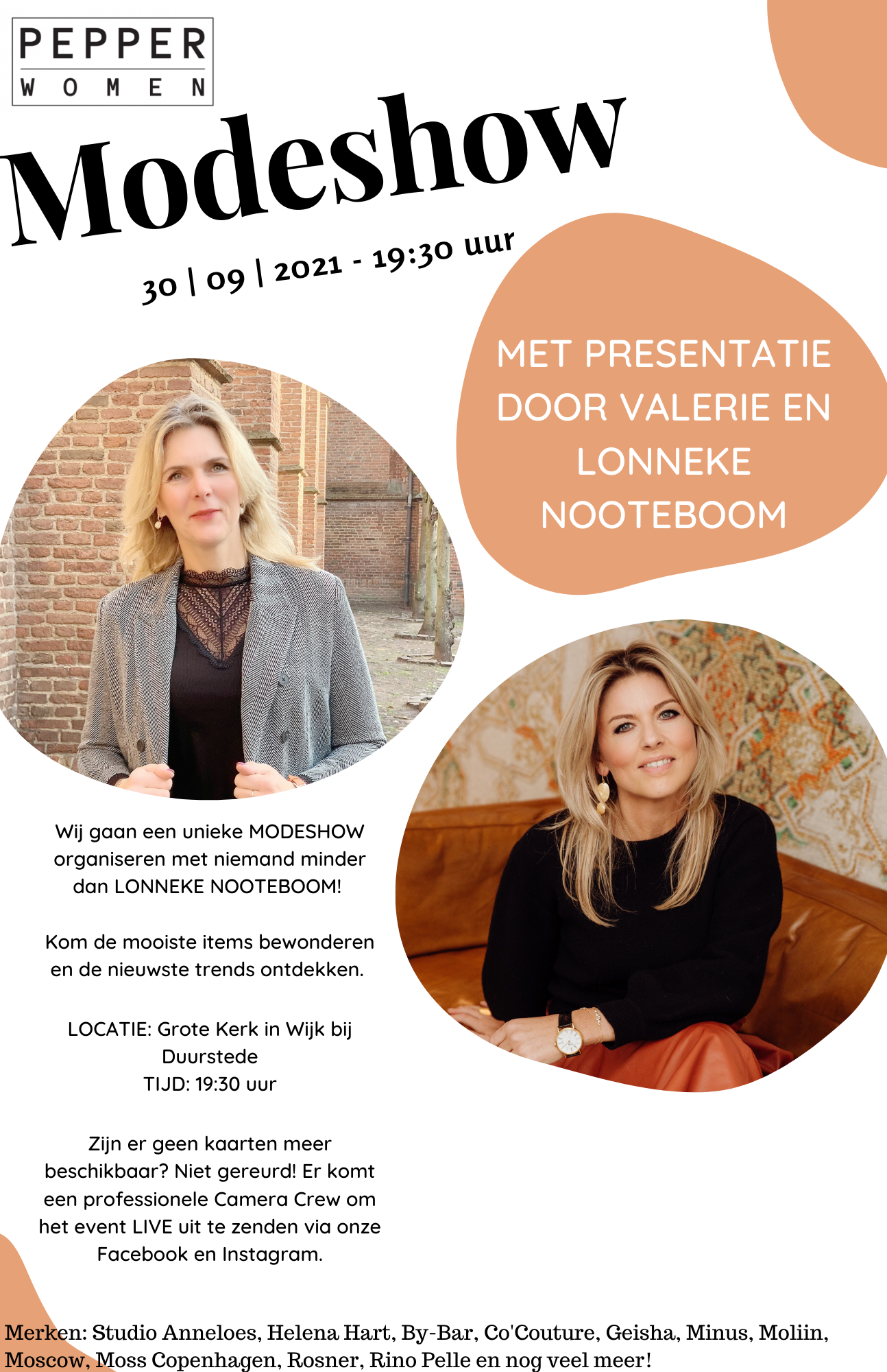 Modeshow met Lonneke Nooteboom