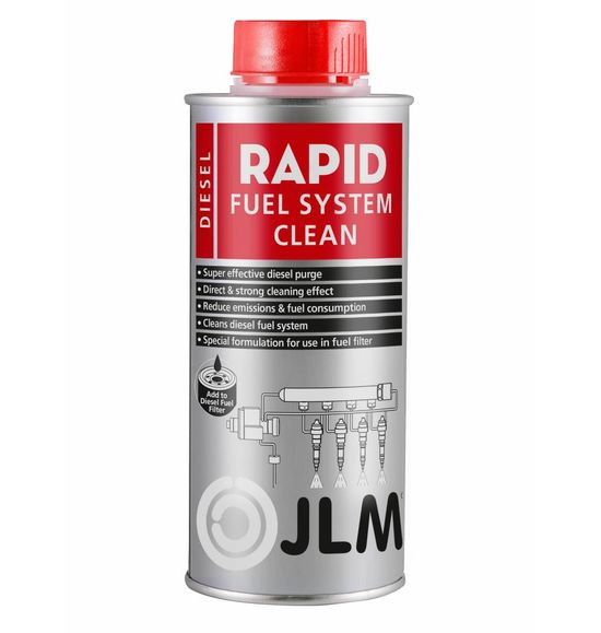 JLM Lubricants Diesel Fuel System Flush 500ml PRO