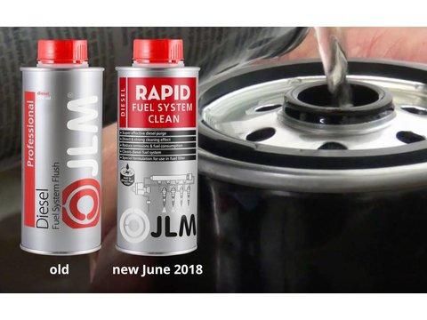 JLM Lubricants  Diesel Fuel System Flush 500ml PRO