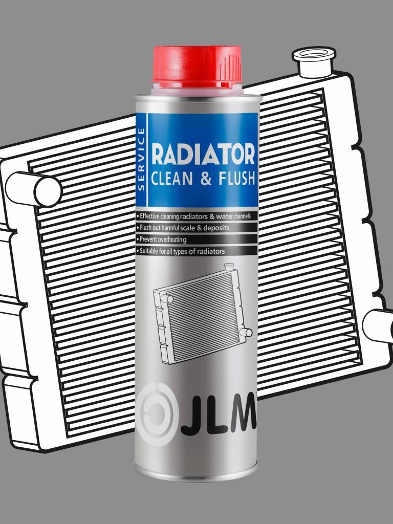 JLM Lubricants  Radiator Clean & Flush 250ml PRO