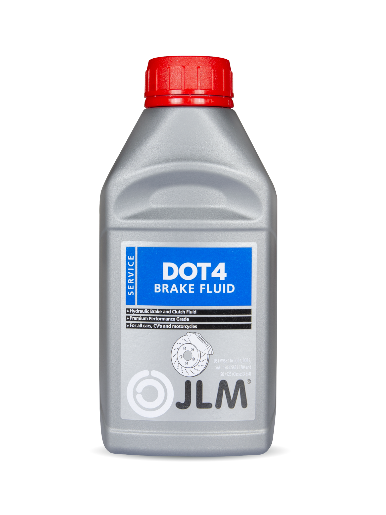 JLM Lubricants Brakefluid Dot 4 500ml