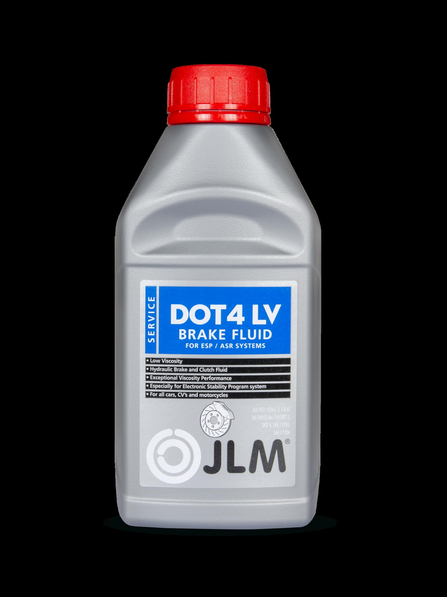 JLM Lubricants Brakefluid Dot 4 LV / ESP / ABS - 500ml