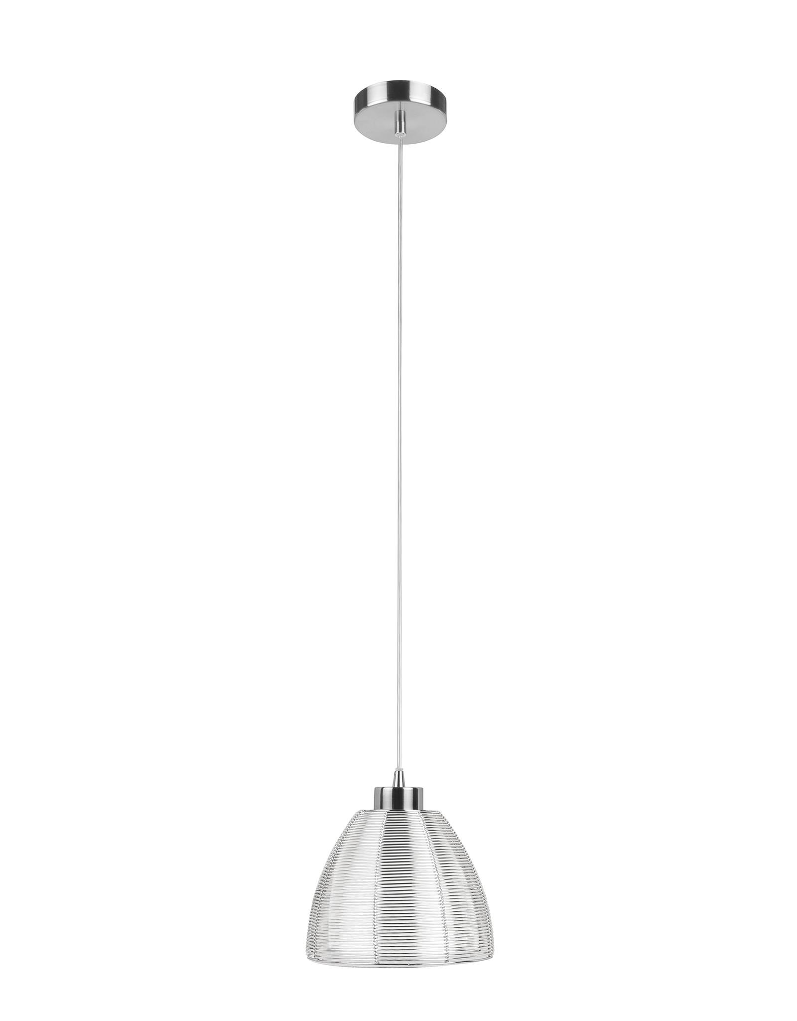 Hanglamp Whires E27 klein Zilver Alu