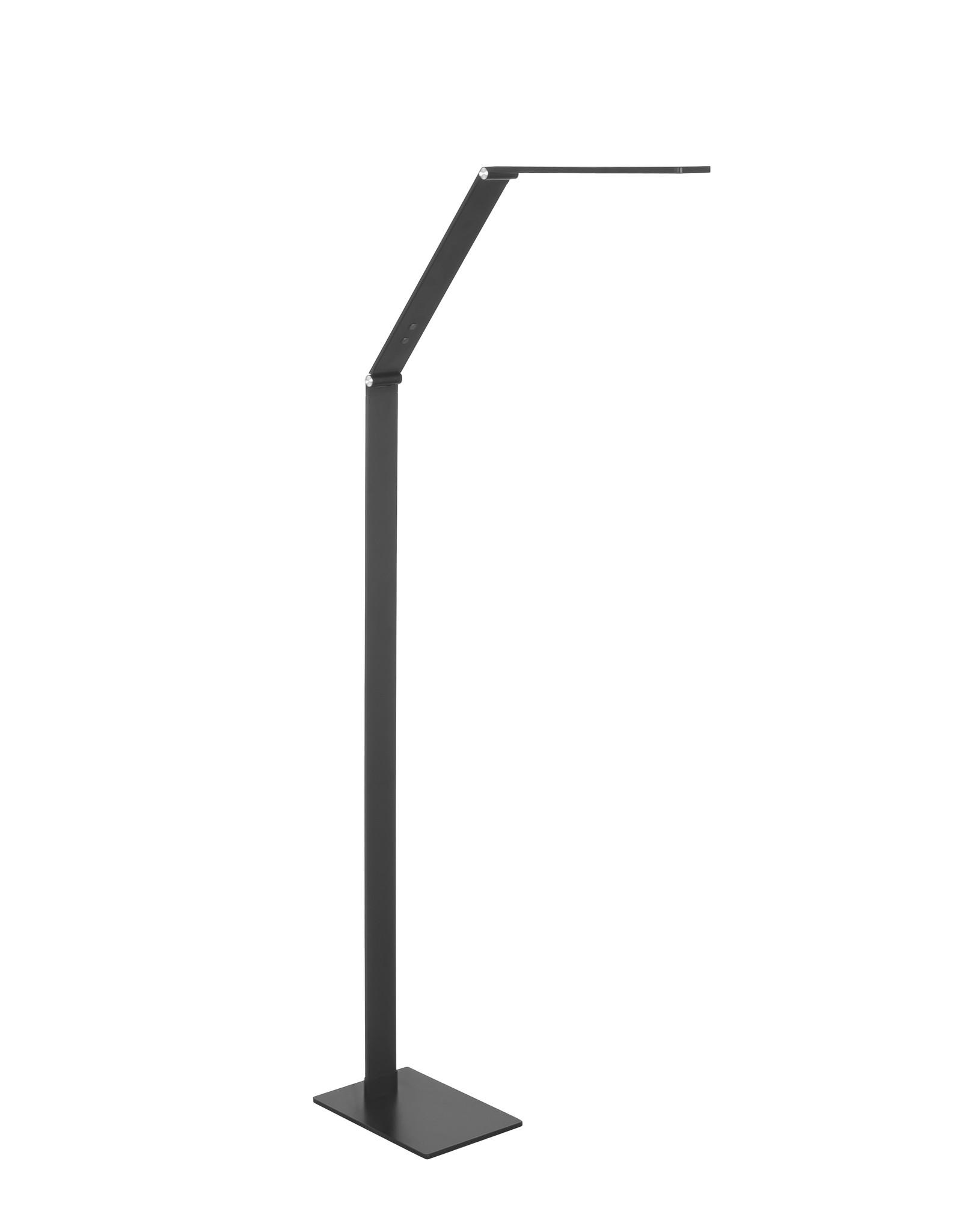 Vloerlamp Optimus 8W LED CCT Mat Zwart