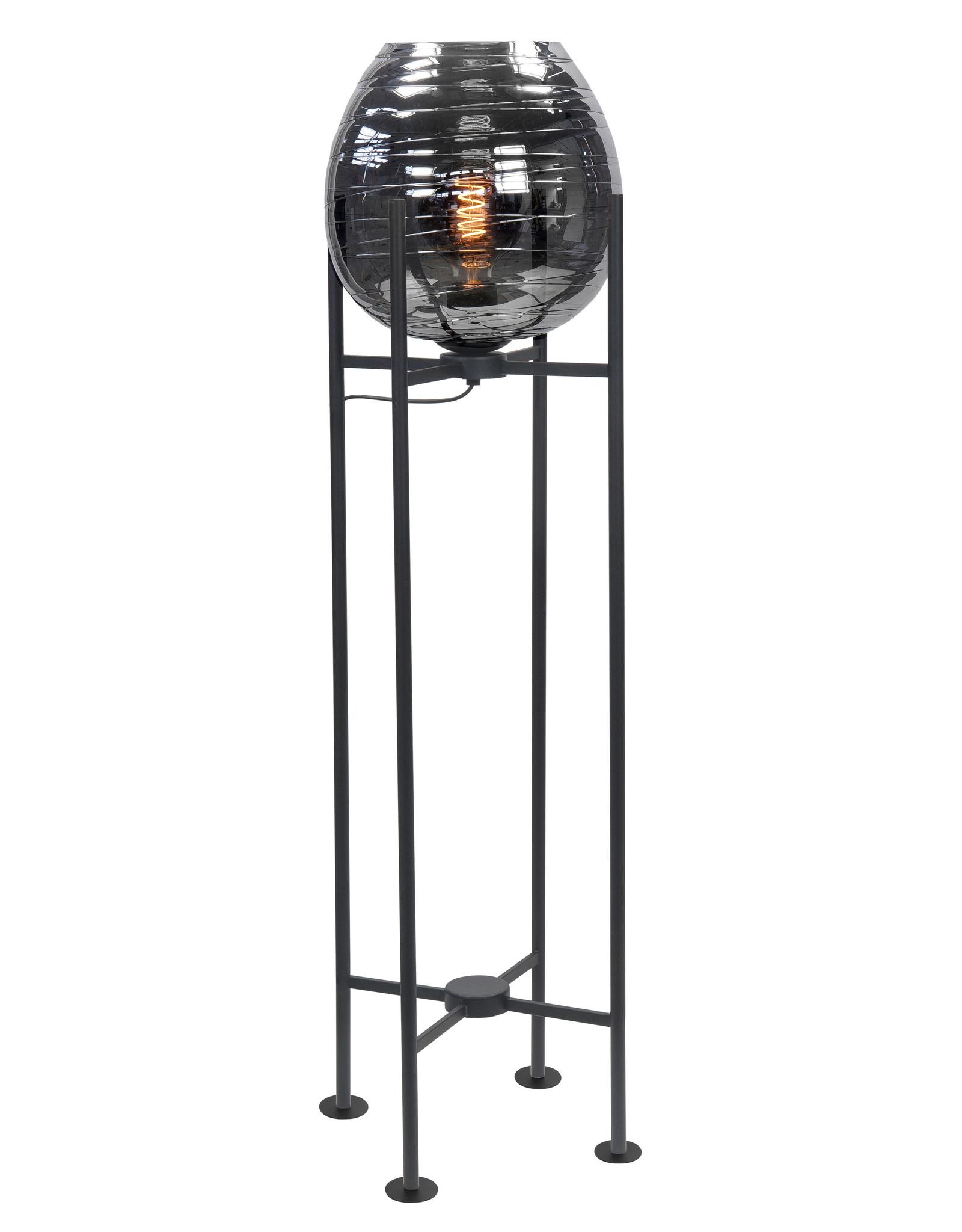 Vloerlamp Fantasy Medium E27 Mat Zwart