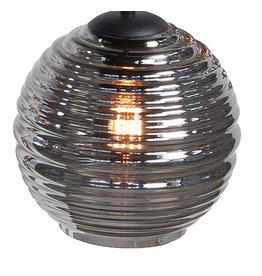 Glas Fantasy Globe Smoke 20 cm.
