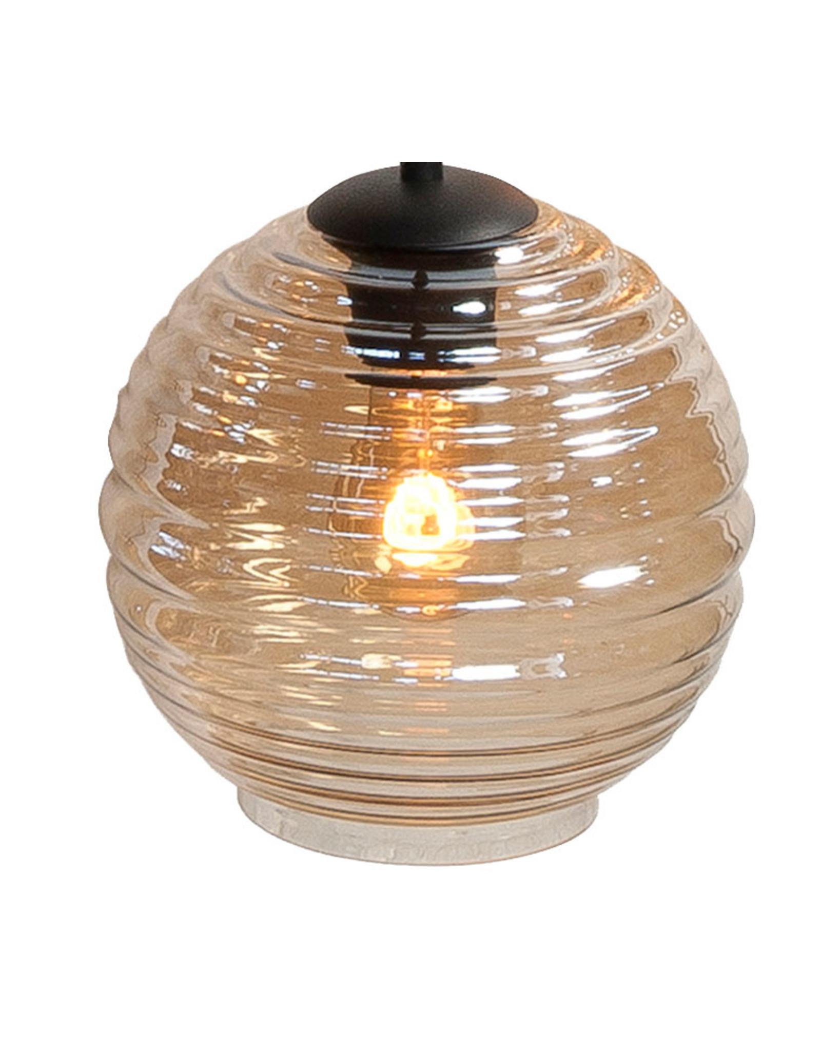Glas Fantasy Globe Amber 20 cm.